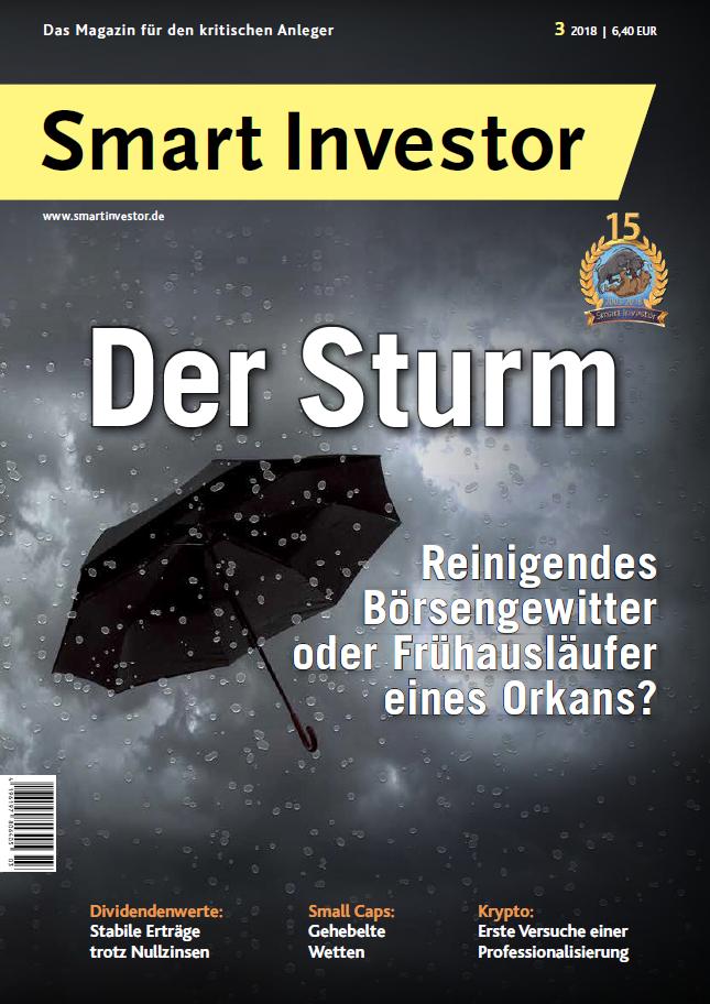 Smart Investor 3/2018 – Sturmreif