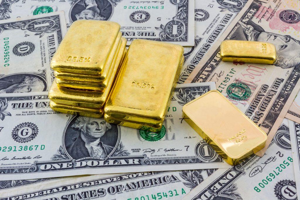 Gold vs. US-Dollar